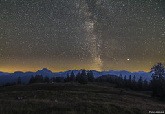 the milkyway in the mountains (peter-goettlich) Tags: