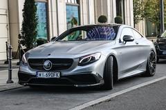 Poland (Warsaw-Srod.) - Mercedes-Benz Brabus S B63-650 Coupé C217 (PrincepsLS) Tags: poland polish license plate berlin spotting wi warsaw mercedesbenz brabus s b63650 coupé c217
