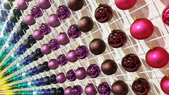 20181013_140044 [ps] - Jingle Ball Block (Anyhoo) Tags: anyhoo photobyanyhoo london england uk johnlewis shop display product sales christmas decorations bauble baubles shiny reflection round balls repetition colourful multicolour multicoloured multicolor multicolored pink purple blue rainbow