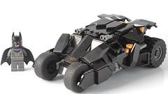 Lego Batmobile Tumbler (hachiroku24) Tags: lego batman batmobile tumbler moc dark kinght