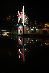 La Salve bridge (by_irma) Tags: lasalvebridge spain bilbao spanje brug bridge bynight avond