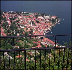 Rolleis Lake Como Experience 2019 (903) (Hans Kerensky) Tags: rolleiflex 35c 6x6 tlr fujifilm pro 160ns scanner plustek opticfilm 120 menaggio lake como italy 2019 chiesetta degli alpini chapel view