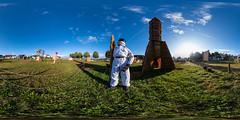 360° | Strohpark 2019 - Rocketman II (hapePHOTOGRAPHIX) Tags: 276baw 276deu 360x180 360° alemania allemagne badenwuerttemberg badenwürttemberg deutschland equirectangular europa europe germany landkreissigmaringen ricohthetaz1 schwenningenheuberg vrpanorama hapephotographix schwenningen