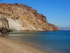 """Difficult roads often lead to beautiful destinations..."" (fl_mala) Tags: wonderfulworld parosisland cyclades greece greekislands ilovegreece traveltogreece discovergreece paros sea deepblue beach sand"
