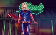 Supergirl (beccaprender) Tags: catwa catya bento maitreya lara session rose sintiklia xo nunox superhero supergirl dccomics homage