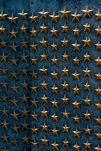 Gold Stars - WWII Memorial