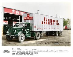 Autocar DCU70T FriedmansColorized (gdmey) Tags: autocar fallenflag colorized trucks transportation trucking