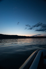 Kalamalka Lake - Coldstream, BC (The Web Ninja) Tags: canon canon70d color colour explore photo photography travel lake coldstream water reflection hills kelowna country vernonbc british columbia britishcolumbia boat lakescape sunset