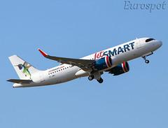 CC-AWJ Airbus A320 Neo Jet SMart (@Eurospot) Tags: lfbo toulouse blagnac ccawj airbus a320 neo a320271n 9194 jetsmart