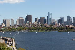 Beacon Hill (ccb621) Tags: boston cambridge charlesriver massachusetts boats buildings city river sailboat sailing skyline water