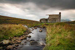 The old shelter (Mister Oy) Tags: ruin rural decay ghill gill stream hut shelter 10stop nd nikond850 nikon2470mmf28evr longexposure yorkshire dales movement motion landscape
