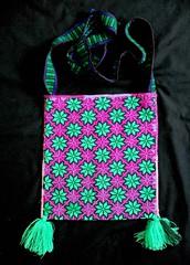 Morral Bolsa Bags Mexico Huichol Textiles Embroidery (Teyacapan) Tags: wixarika embroidered bags textiles mexican bolsa morral
