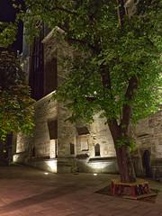 Church of St.Othmar, Mödling, Lower Austria (lebre.jaime) Tags: austria loweraustria mödling church stothmar architecture nocturnal nightphotography existinglight digital fullframe ff fx nikon d600 nikkorafs1735f28d affinity affinityphoto