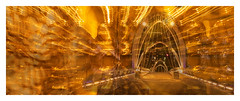 Golden Arches (Greenstone Girl) Tags: montage webb bridge golden crown casino icm lights freestyle mosaicmontagemonday