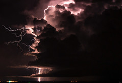 Nightstorm (Markus Branse) Tags: nightstorm seenfromstokeshillwharf darwin northernterritory australia seen from stokes hill wharf northern territory tags hinzufügen gewitter nooamah notthern austalien austral australie aussie oz thunder thunderstorm storm lightning blitze bolt unwetter wetter weer meteo weather wolken cloud clouds wolke outback hell nacht langzeitbelichtung nite night nuit himmel wasser sonnenuntergang