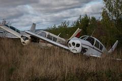 IMGP0549 (ferm93) Tags: abandoned öde övergivet moody flygplan