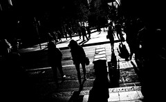 (steven:s) Tags: sydney street people shadow city nothing bw monochrome ricoh gr