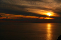 End of the day in Greece (irmur) Tags: sunset greece orange