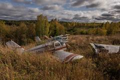 IMGP0583 (ferm93) Tags: abandoned öde övergivet moody flygplan