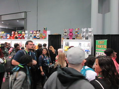 2019 NYC Comic Con Javits Center Toy Tokyo Booth 4431 (Brechtbug) Tags: 2019 nyc comic con interior jacob javits center toy tokyo booth lower east side 2nd ave collectable figures toys action figure japan japanese anime vinyl pop culture popular funko stuff gallery art asian asia custom kidrobot kid robot