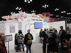 2019 NYC Comic Con Return of The Far Side Booth 4503 (Brechtbug) Tags: 2019 nyc comic con return the far side booth showroom floor jacob javits center seen from above west midtown manhattan october 4th comiccon 10042019 comics convention new york city entrance way four day event gary larson strip creator