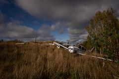 IMGP0563 (ferm93) Tags: abandoned öde övergivet moody flygplan