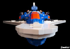 Deep Freeze Discoverer - Nose (jtooker2) Tags: shiptember ship lego deepfreezediscoverer iceplanet spaceship 2002 2019 moc space iceplanet2002 shiptember2019