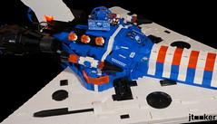 Deep Freeze Discoverer - Engines (jtooker2) Tags: shiptember ship lego deepfreezediscoverer iceplanet spaceship 2002 2019 moc space iceplanet2002 shiptember2019