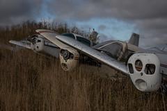 IMGP0545 (ferm93) Tags: abandoned öde övergivet moody flygplan