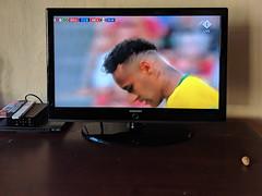 bra vs mex (dolanh) Tags: brazilvsmexico delft netherlands remtalhouse television tv worldcup worldcup2018