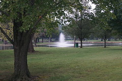 Lakeside Park (tomcomjr) Tags: sonyilca77m2 sal1855 lakesidepark pittsburgks fountains tree grass green playterslake