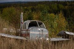 IMGP0517 (ferm93) Tags: abandoned öde övergivet moody flygplan