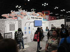 2019 NYC Comic Con Return of The Far Side Booth 4504 (Brechtbug) Tags: 2019 nyc comic con return the far side booth showroom floor jacob javits center seen from above west midtown manhattan october 4th comiccon 10042019 comics convention new york city entrance way four day event gary larson strip creator