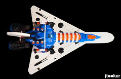 Deep Freeze Discoverer - Top (jtooker2) Tags: shiptember ship lego deepfreezediscoverer iceplanet spaceship 2002 2019 moc space iceplanet2002 shiptember2019
