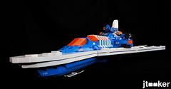 Deep Freeze Discoverer (jtooker2) Tags: shiptember ship lego deepfreezediscoverer iceplanet spaceship 2002 2019 moc space iceplanet2002 shiptember2019