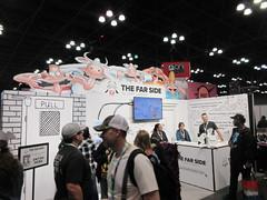 2019 NYC Comic Con Return of The Far Side Booth 4500 (Brechtbug) Tags: 2019 nyc comic con return the far side booth showroom floor jacob javits center seen from above west midtown manhattan october 4th comiccon 10042019 comics convention new york city entrance way four day event gary larson strip creator