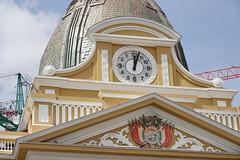 The inverted clock (Chemose) Tags: sony ilce7m2 alpha7ii mai may bolivie bolivia lapaz horloge clock plazamurillo