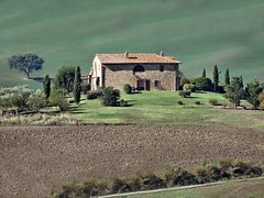 Pienza (Jolivillage) Tags: jolivillage valdorcia farmhouse agriturismo paysage landscape paesaggio maison house casa toscane tuscany toscana italie italy italia europe europa picturesque geotagged vert green verde