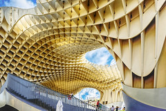 Metropol Parasol (HSS) (Lense23) Tags: hss sliderssunday spanien spain andalusien sevilla architektur architecture processed processedforsliderssunday