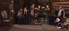 "SPOOKY...? It'll get ""worse"" ;D (qzxr) Tags: gachaland gacha secondlife spooky halloween tardfish andore aurora since1975 demicorn 22769 boomerang krescendo someonestolemysign oubliette dmrposhponies marukado lilithsden zerkalo"