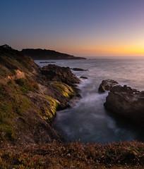 Flow (Lisa Ouellette) Tags: sunset flow watere ocean mendocino california coastal