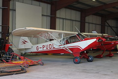 G-PUDL Piper PA-18-150 Super Cub (Ray's Photo Collection) Tags: rochester gpudl airport medway kent uk piper supercub pa18