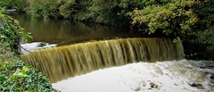 Weir on River Goyt, Marple, Cheshire (Re-worked) (HighPeak92) Tags: weire rivers rivergoyt marple cheshire canonpowershotsx200is