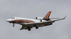 Dassault Falcon 7x, Business Aviation Asia, B-8205 (maxguenat) Tags: avion spotter spotting cointrin atterrissage