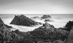Rocks and Water Stanley Tasmania (laurie.g.w) Tags: rocks water stanley tasmania blackwhite bw black white ocean coast shoreline seascape waterscape australia