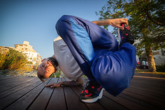 Ant (busitskee) Tags: dance breaking breakdance people move city israel freeze canon outdoor form art