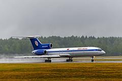 Belavia Tu-154m (tzhskz) Tags: aircraft airplane airliner airport jet msq umms runway takeoff rain tupolev 154m ew85748 belavia 92a924