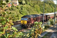 11.08.19 Weymouth Station..57601 Windsor Castle...57314 on R.. (A.P.PHOTOGRAPHY.) Tags: 110819weymouthstation57601windsorcastle57314onr 57601 57314 windsorcastle class57 diesellocos weymouthdorset weymouthstation railways stations bridges nikond7000 nikon18300lens