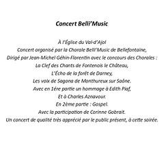 01 Chorales Belli'Music