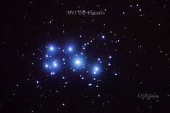 The Pleiades (cgberrio) Tags: cielo sky cielonocturno nightsky noche night estrellas stars